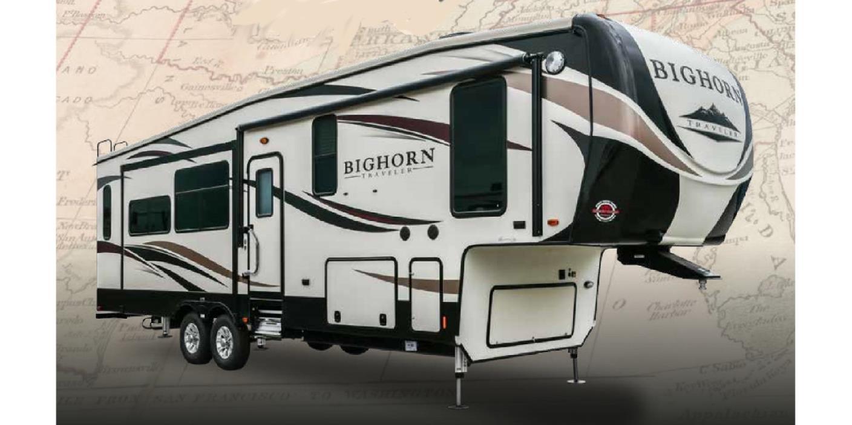 2017 Heartland Rv Bighorn Traveler 37SS