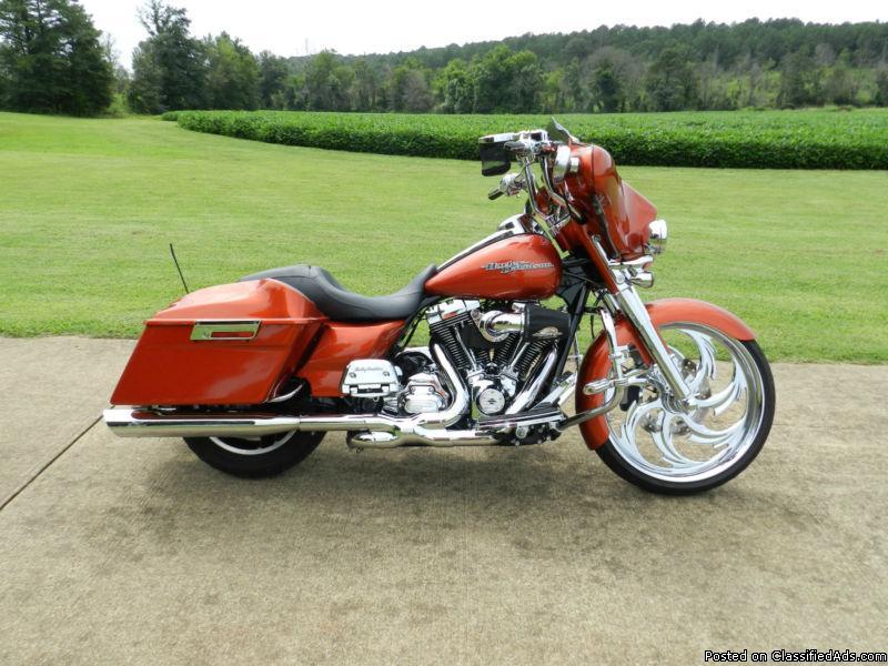 Custom Street Glide Motorcycles For Sale In Atlanta Georgia