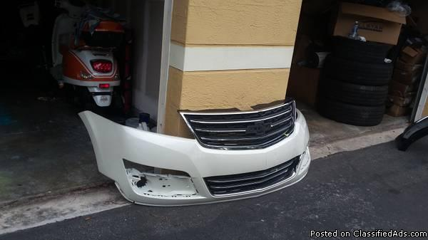 Chevrolet Traverse 2014 Front Bumper with Grill