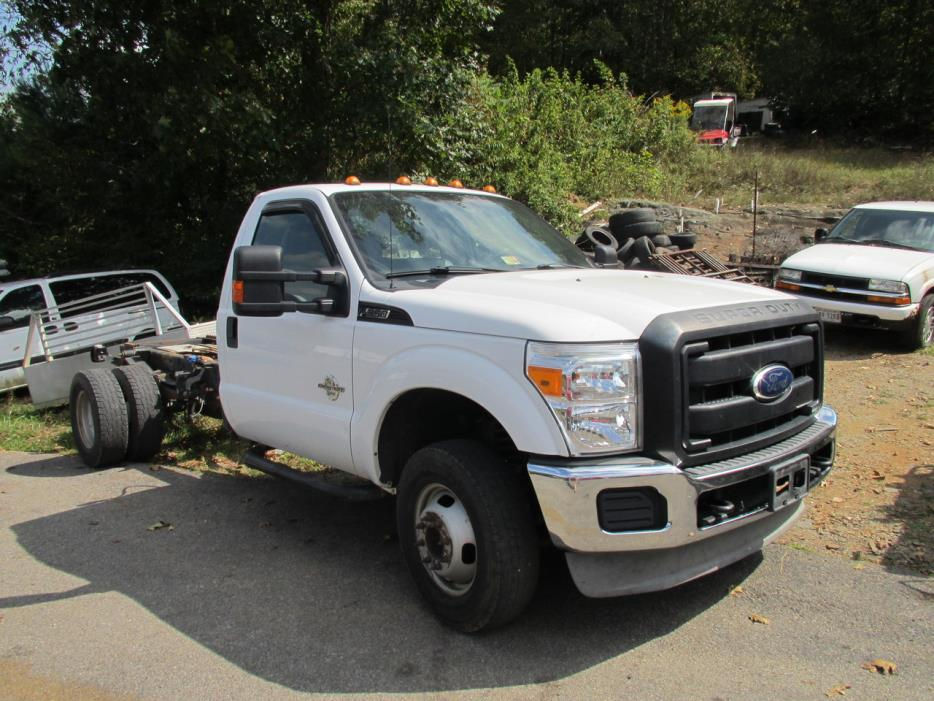 2011 Ford F350 Cab Chassis