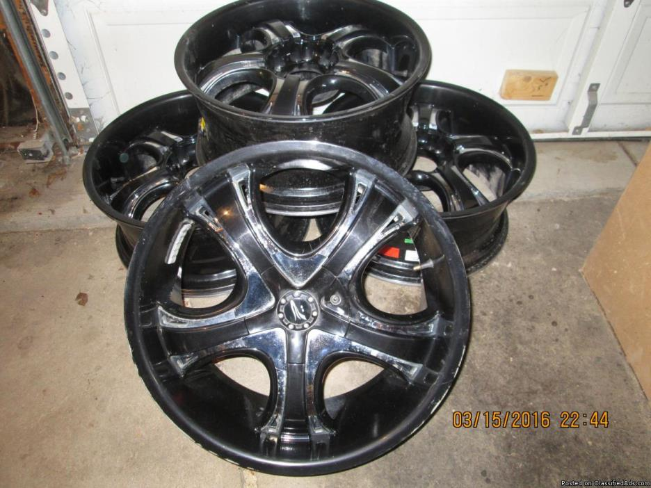 Aluminum custom wheels for Chevy ( GM ) Truck .9