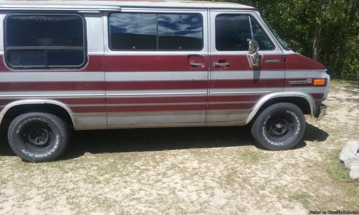 1985 gmc 2500 van