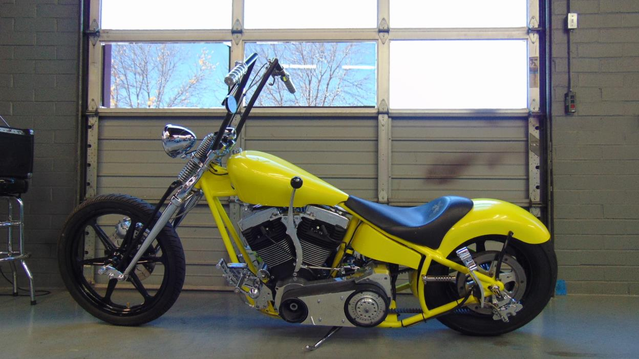 2000 Custom Springer Hardtail Chopper