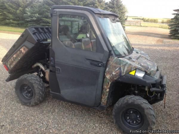 2013 Polaris Ranger 900XP Browning For Sale