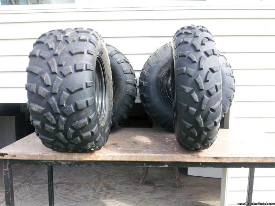 Polaris tires and rims