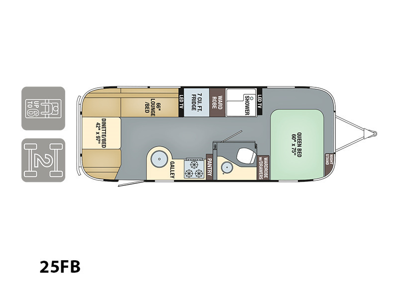 2017 Airstream International Signature 25FB