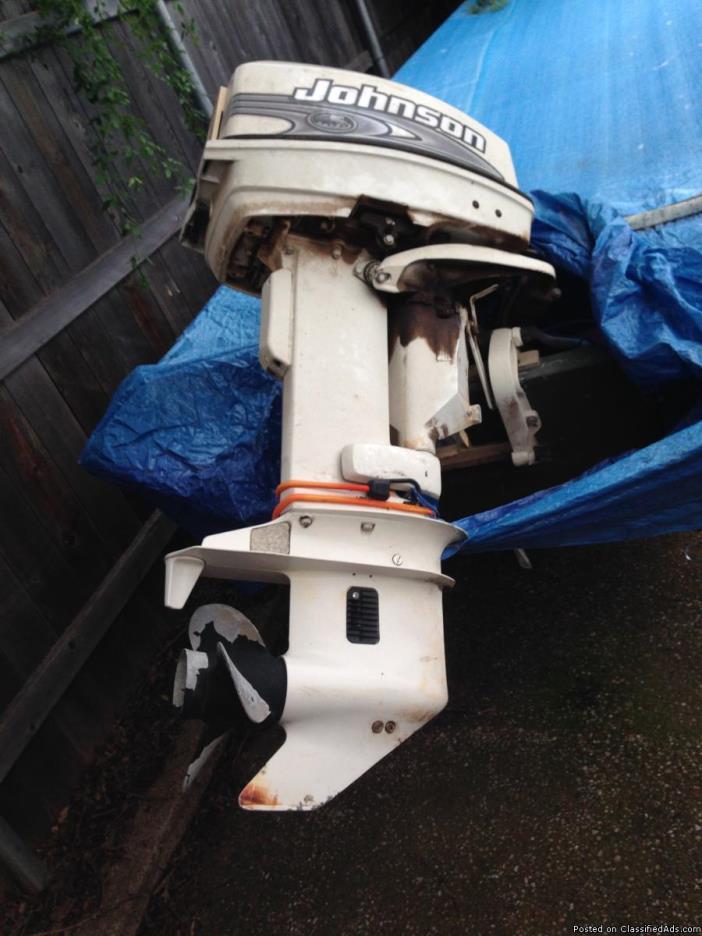 2005 Alumacraft, 25 hp Johnson