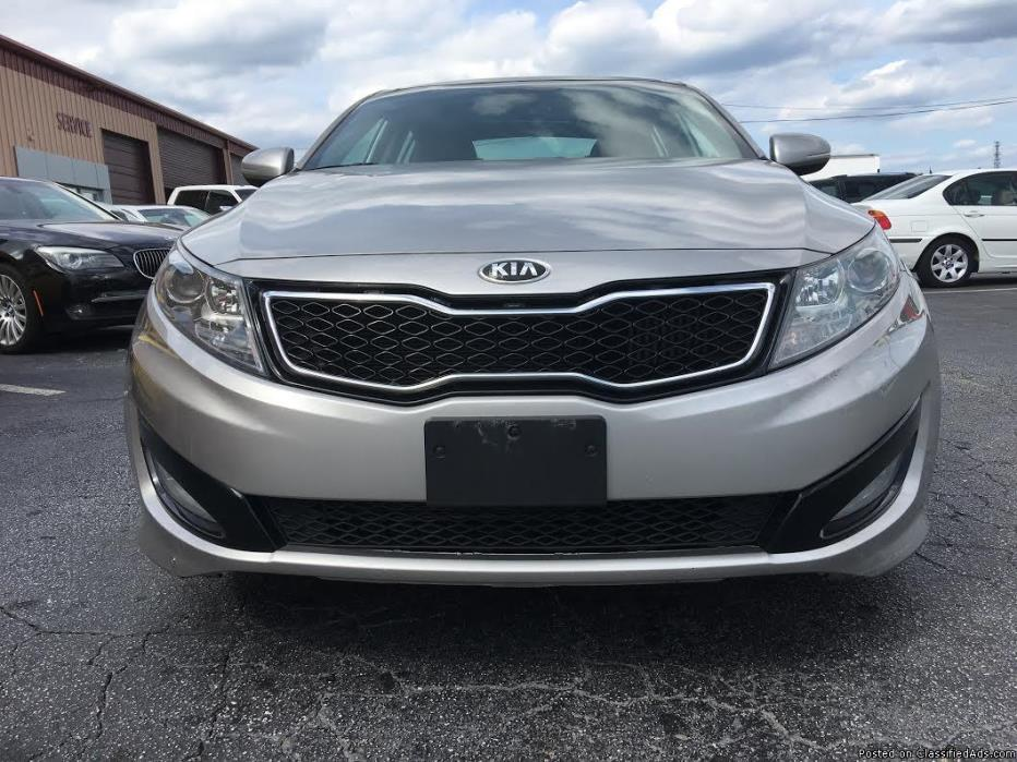 2013 Kia Optima loaded