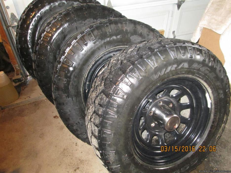 Chev.-(GM) truck wheels and tires