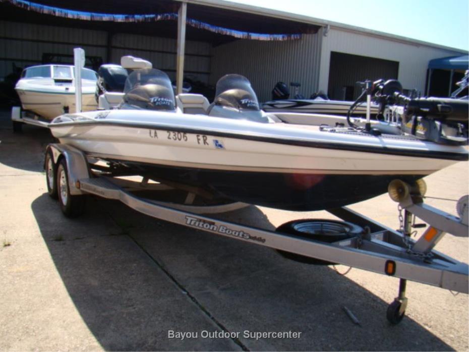 2007 TRITON BOATS TR-186 w/Mercury 175L Opti