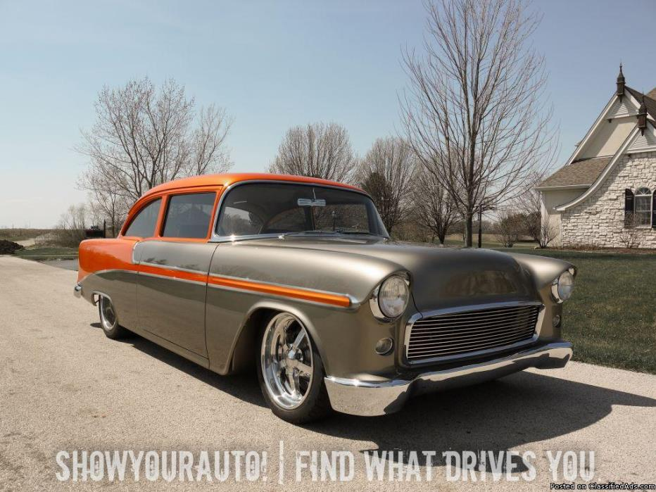 '55 Chevy Custom Pro-Touring For Sale!