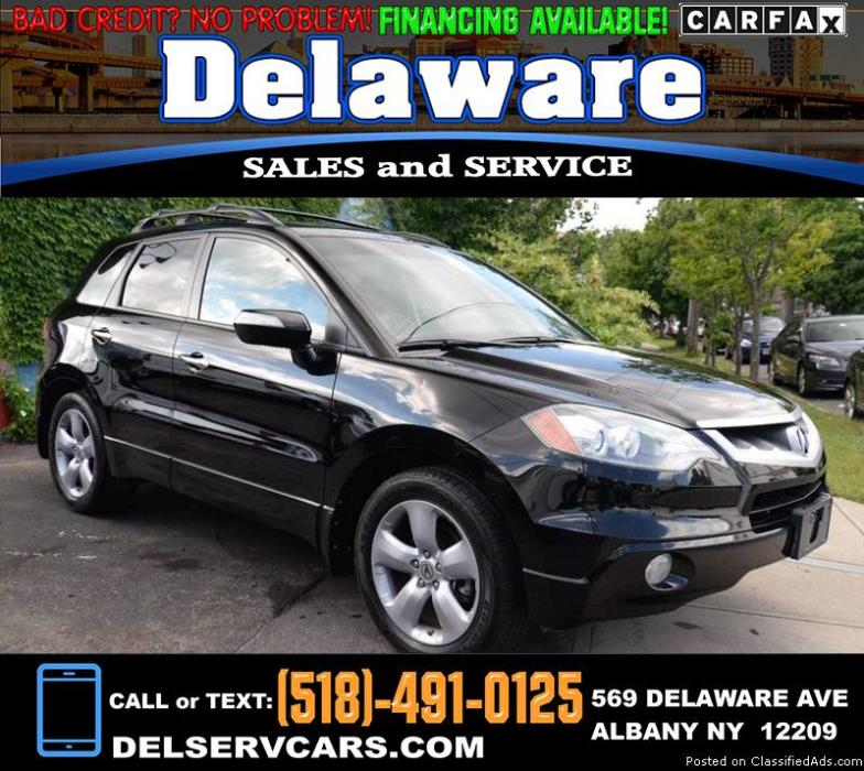 2009 Acura RDX SH-AWD SUV w/Technology Package! CLEAN CARFAX! Navigation...