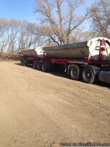 2009 Kline Side Dumps Heavy Trailer For Sale
