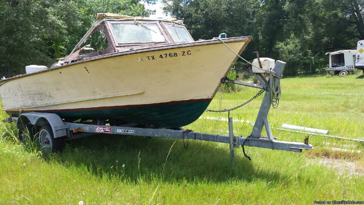 20' plus boat trailer