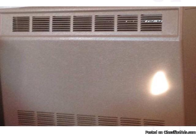 Natrual gas empire wall heater