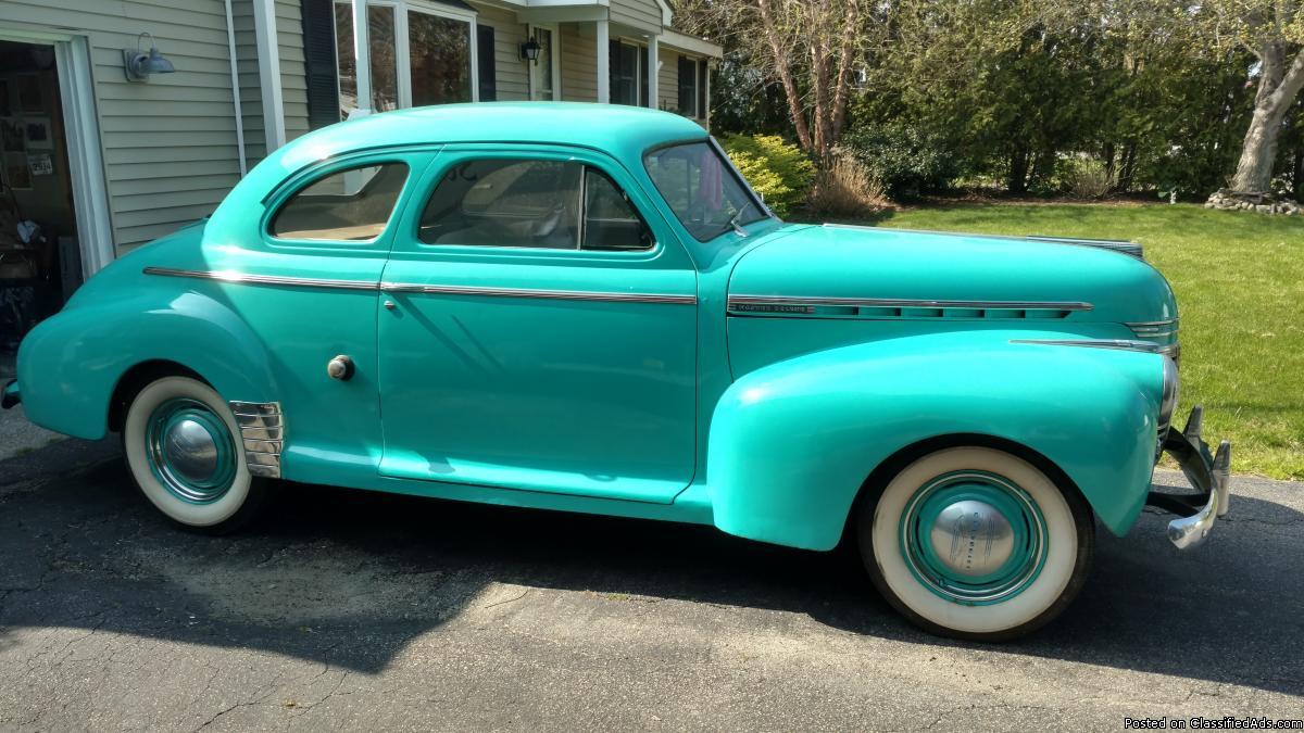 1941 Chevrolet Master Deluxe 2 Door Coupe