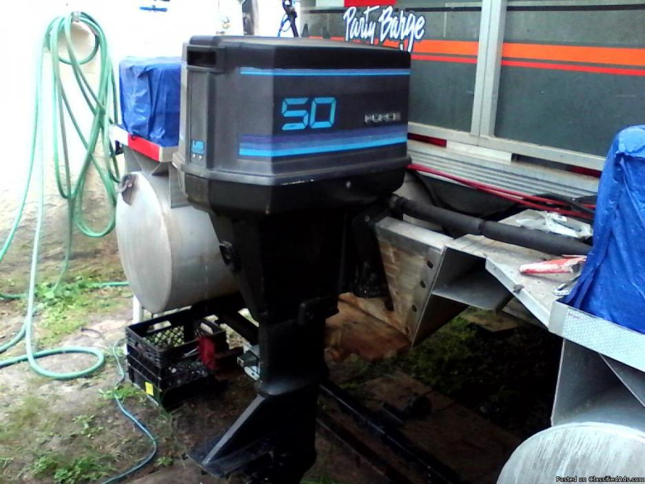 Boat Motor 50hp Force Mercury