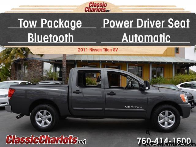 2011 nissan titan truck sv vehicles for sale. Black Bedroom Furniture Sets. Home Design Ideas