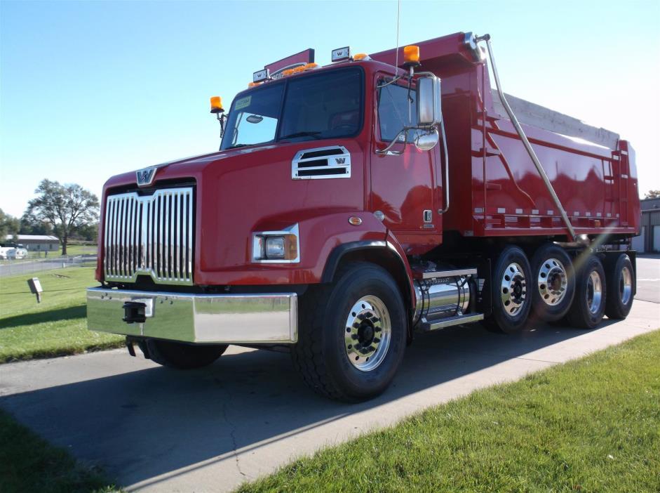 2014 Western Star 4700sb Dump Truck