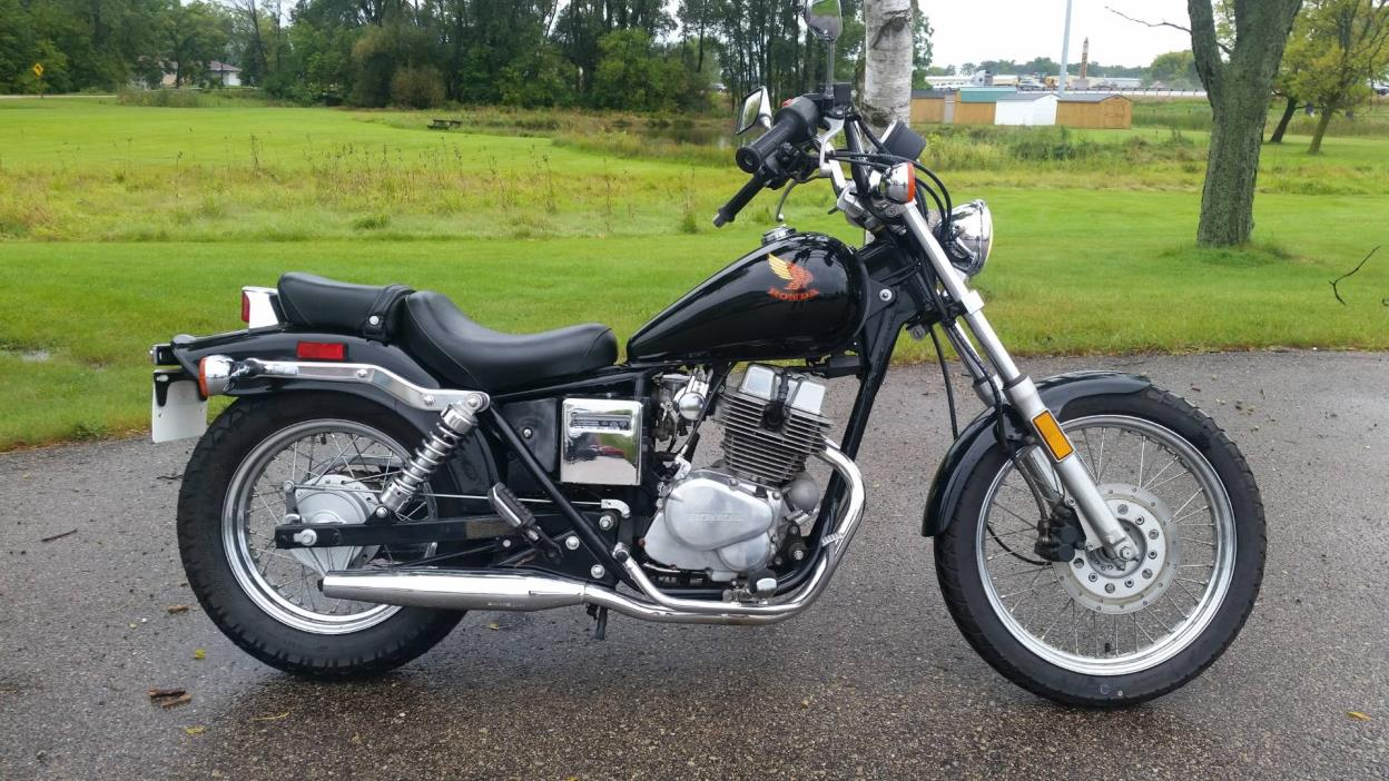 honda cmx 250 rebel motorcycles for sale in wisconsin. Black Bedroom Furniture Sets. Home Design Ideas