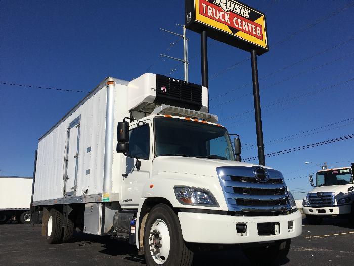 2016 Hino 338  Refrigerated Truck