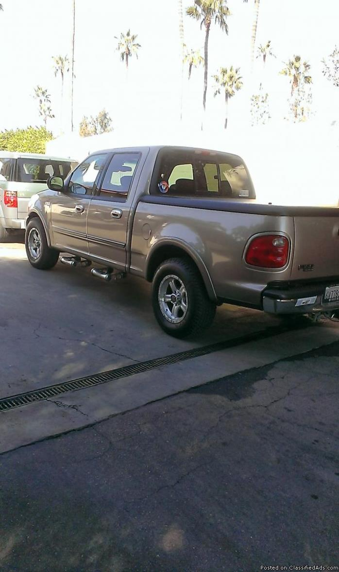 2002 Ford F-150 Lariat King Ranch Supercrew