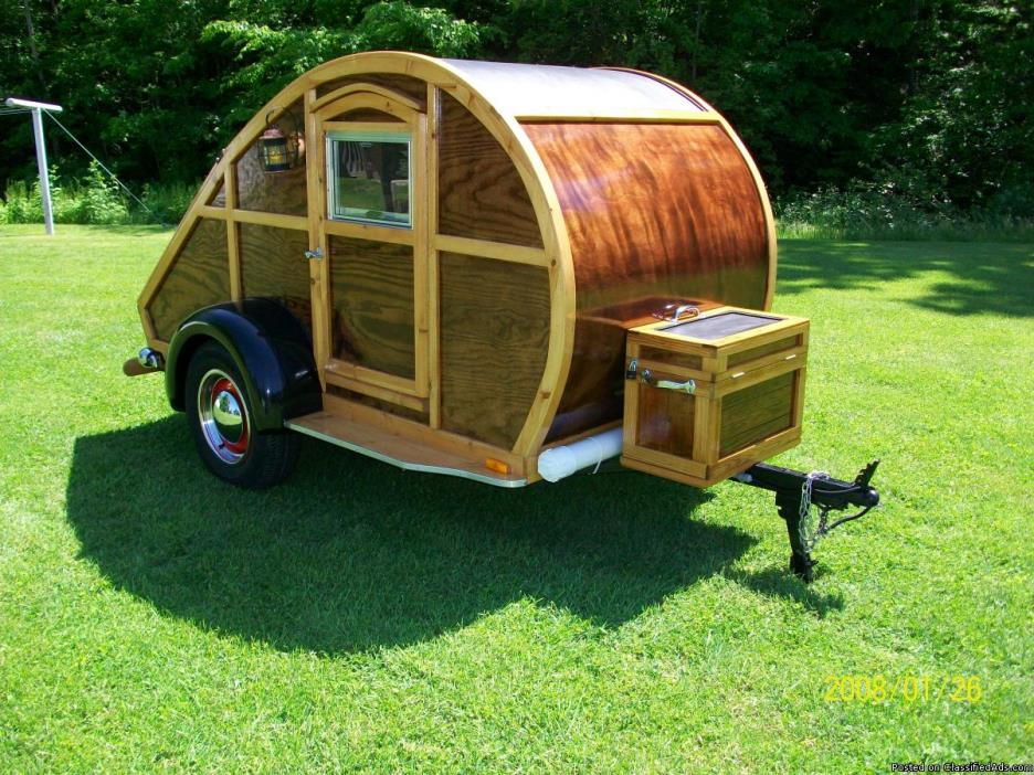 Teardrop Camper Trailer (Woody)
