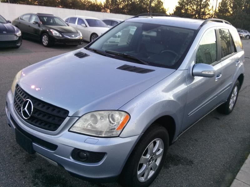 2006 MERCEDES-BENZ ML350 AWD 350