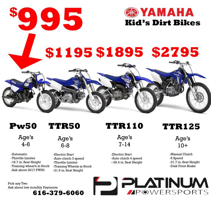 Yamaha ttr 50 motorcycles for sale in michigan for Yamaha ttr50 price