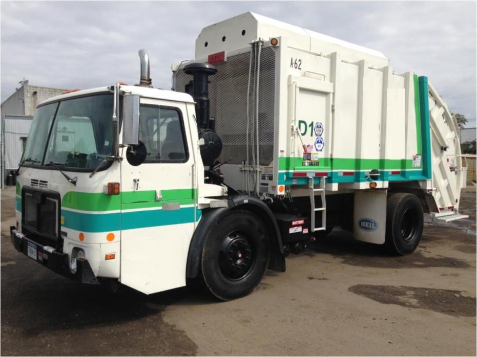 2007 Autocar Wxll64 Garbage Truck