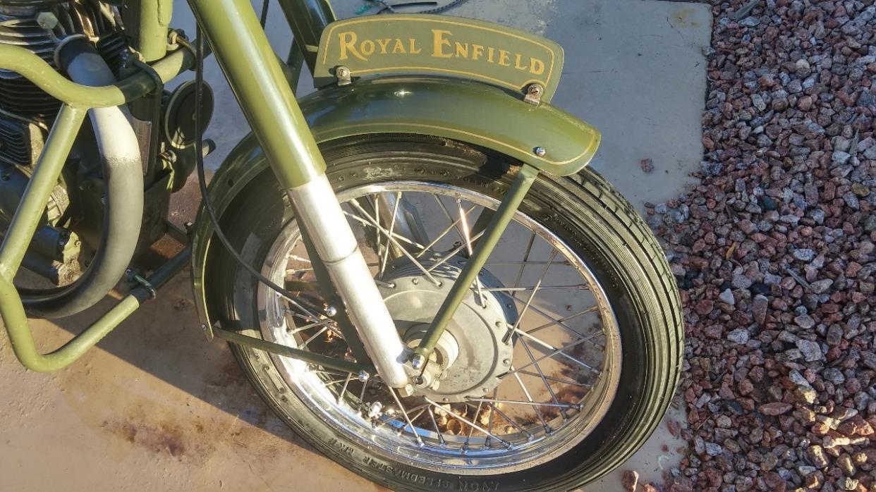 2014 Royal Enfield BULLET 500 B5 (EFI)
