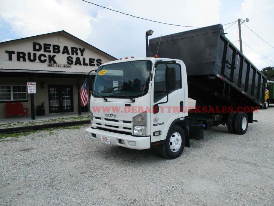 2011 Isuzu Npr Hd Dump Truck  Dump Truck