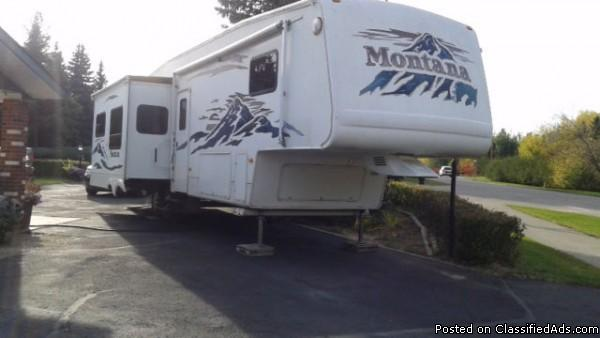 2005 Keystone Montana 3500RL Fifthwheel For Sale