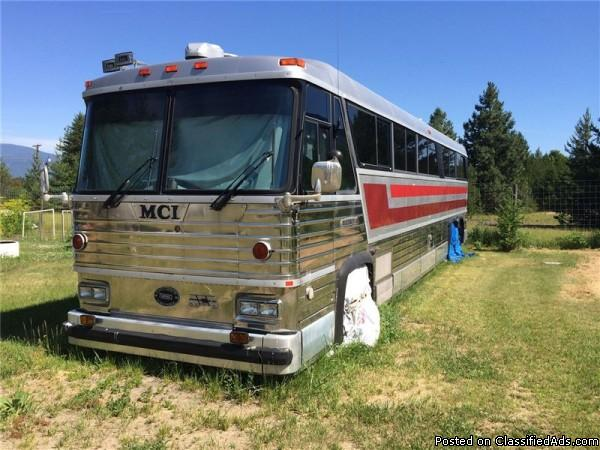 1975 MCI Cruiser EX 48Ft Class-A Motorhome For Sale