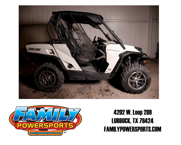 Can Am Commander Motorcycles For Sale In Lubbock Texas