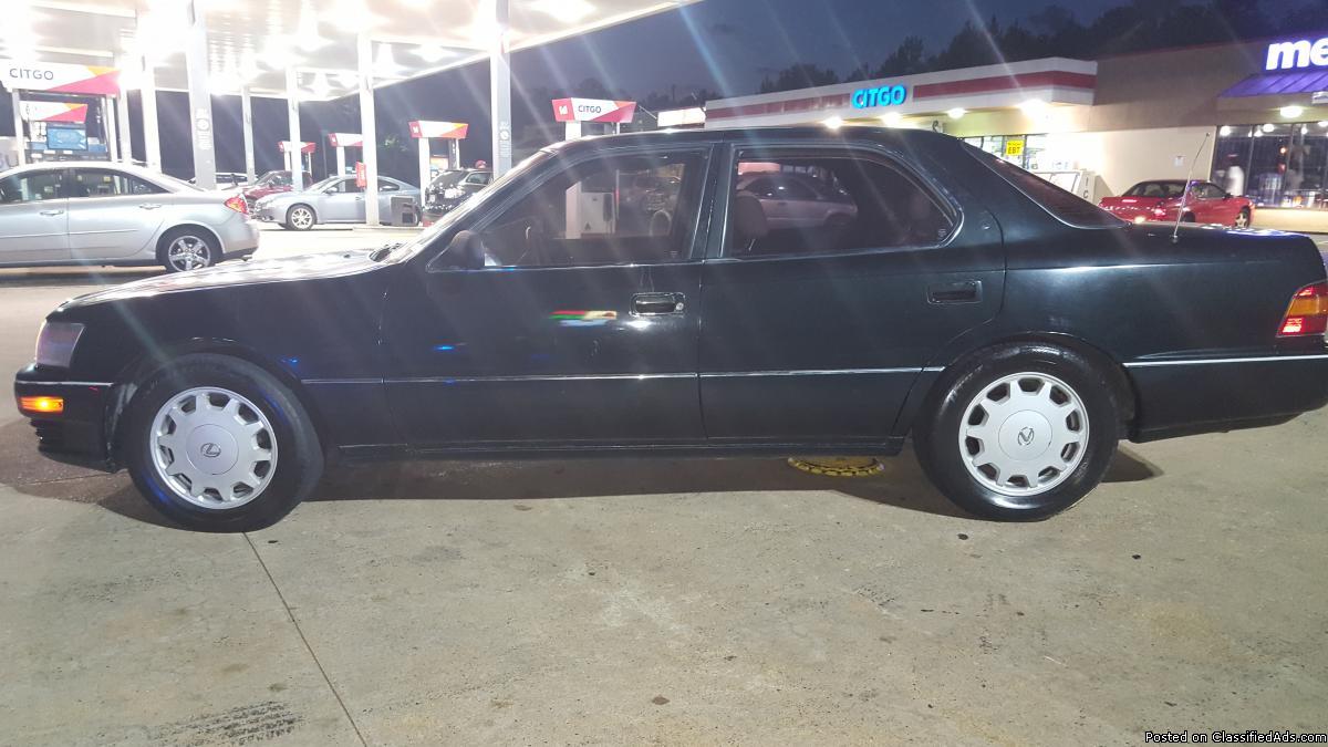 1991 Lexus Ls400 Cars for sale