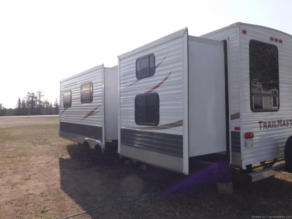 for sale a 2010 gulf stream trail master trailer, 1
