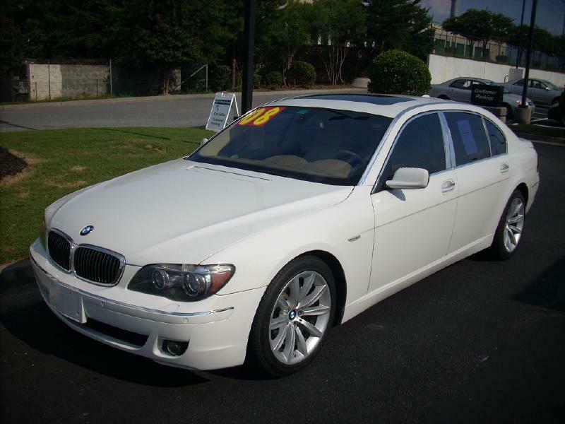 2008 BMW 750 LI 750LI
