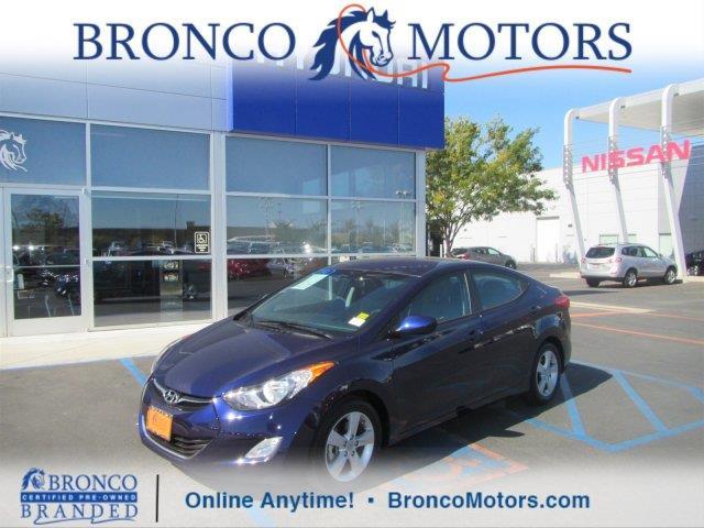 Hyundai elantra idaho cars for sale for Bronco motors hyundai west