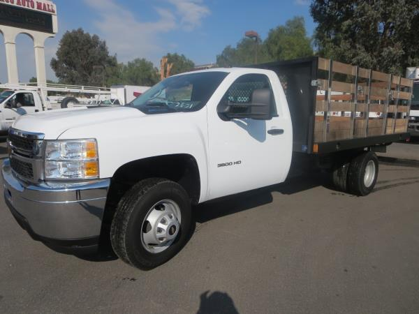 2014 Chevrolet C3500 Dsl  Stake Bed