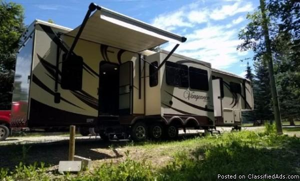 2014 Forest River Vengeance 39R12 Toy Hauler For Sale