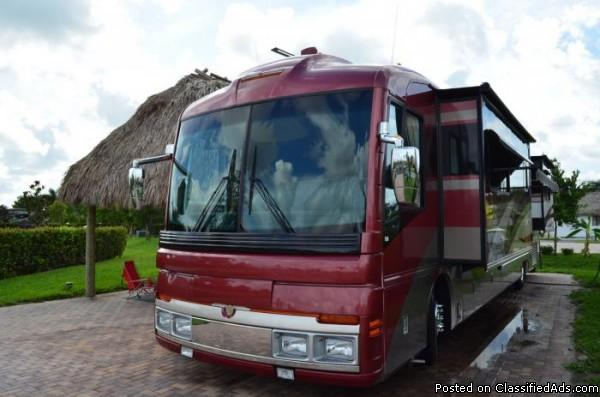 2003 Fleetwood American Eagle 40Ft Class-A Motorhome For Sale