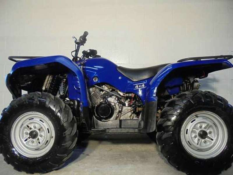 Yamaha grizzly 350 automatic motorcycles for sale for Yamaha 350 grizzly