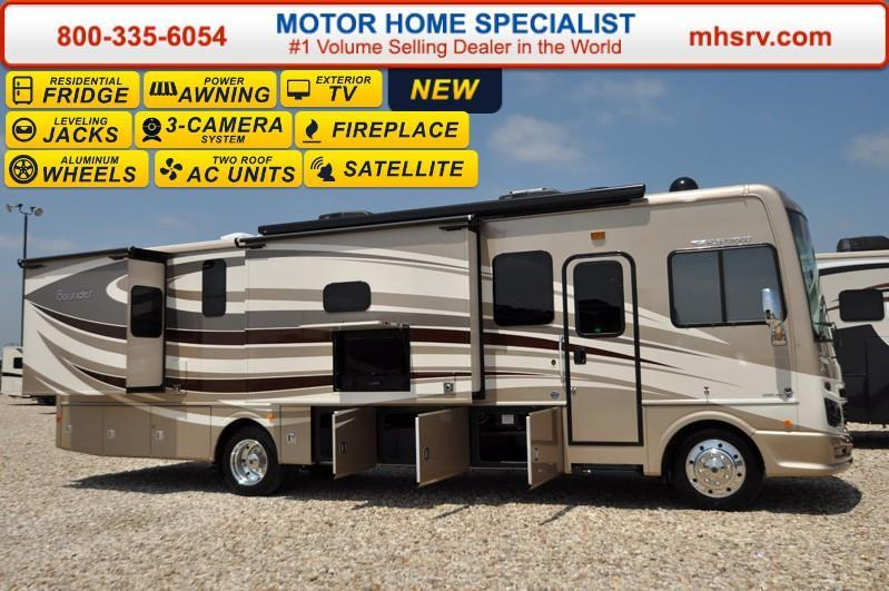 2017 Fleetwood Bounder 34T Class A RV for Sale W/ LX Pa