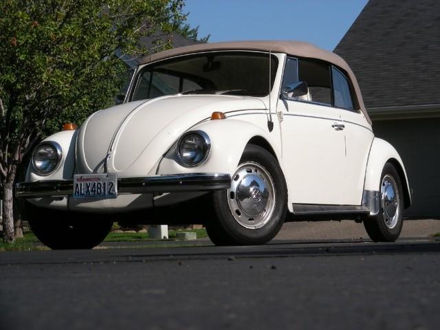 1968 Volkswagen Karmann Convertable