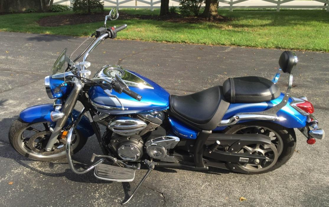 Yamaha v star motorcycles for sale in zionsville indiana for Yamaha motorcycle dealers indiana
