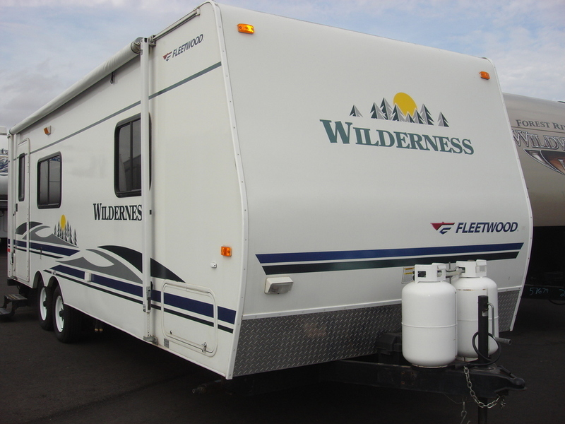 2005 Fleetwood Wilderness 250RK