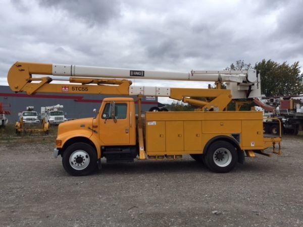 2000 Terex 5tc55  Bucket Truck - Boom Truck