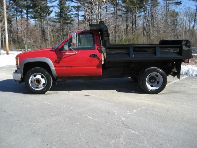 2001 Gmc Sierra 3500  Dump Truck