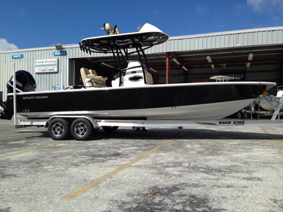 2017 Sportsman Boats Masters 267 Bay Boat